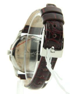 Kenneth Cole KC2641 Watch Womens Black Casual Leather New
