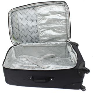 Kenneth Cole Reaction Curve Appeal II 4 Piece Luggage Set   Charcoal