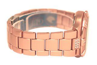 Guess U12657L3 Rose Gold Tone Dial Aluminum Bracelet Women Watch New