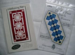 Table Runner Patterns 2 for The Price of 1