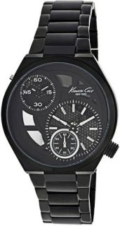 New Kenneth Cole KC3992 Mens Black Dial Mens Watch