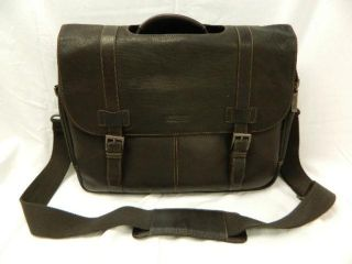 Kenneth Cole Reaction Luggage Show Business 100 Leather Brown