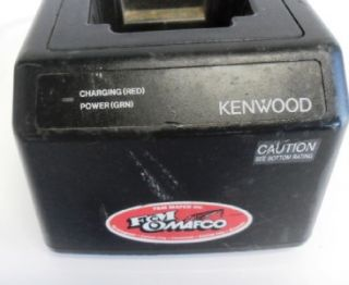 Kenwood KSC 12 Rapid Battery Charger for Two Way Radio KSC12 Used