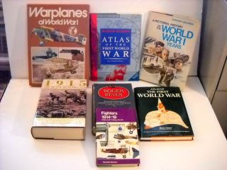 WWI Books Geography History War Planes Illustrated