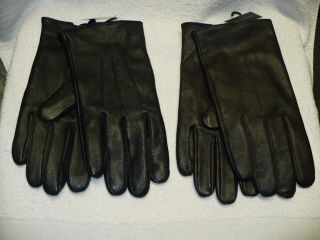 Kenneth Roberts Platinum Soft Leather Mens Gloves Cashmere Lining
