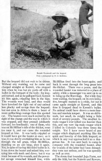 African Safari Roosevelt Masai Juja Farm Hippo Hunt African Game