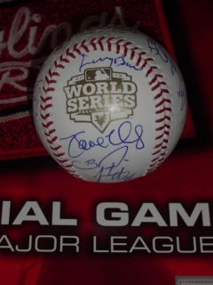 2012 SAN FRANCISCO GIANTS TEAM SIGNED WORLD SERIES BASEBALL, PSA/DNA