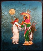 Kevin Red Star Midnight Two Step Signed & Numbered Lithograph native