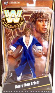 WWE Legends Series 6 Kerry Von Erich Figure Blue Robe NIP Mattel 2011