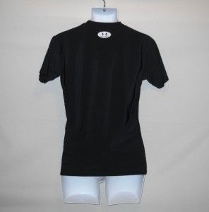 POPULAR UNDER ARMOUR BLACK XL SHORT SLEEVE COMPRESSION SHIRT