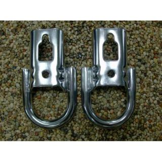 2011 2012 2013 F 150 F150 OEM Genuine Ford Parts Chrome Tow Hooks PAIR