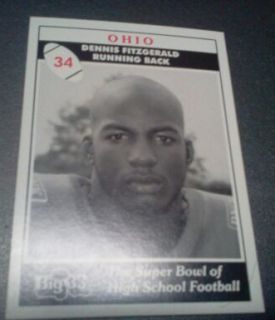 1994 Ohio Big 33 Kevin Huntley Wisconsin Uni St Joseph C C HS