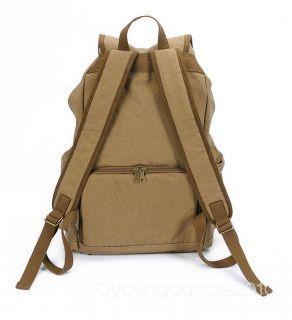 2012 Canvas DSLR Camera Laptop Bag Backpack Rucksack Capacity 1DSLR
