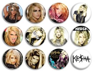 Kesha Ke$Ha Blow Music Band Buttons Pins Badges CD New Collection