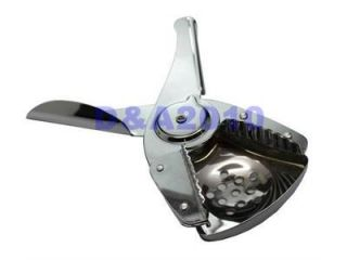 Lemon Lime Squeezer with Strainer Stainless Steel Chrome Plated Presse