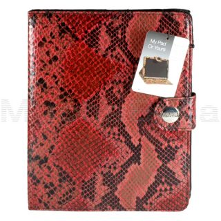 Kenneth Cole Reaction iPad Tablet Folio Case Stand Cover Python Print