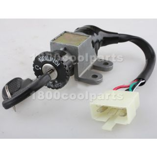 Ignition Key Switch Gas Scooter Moped GY6 50cc 150cc Parts
