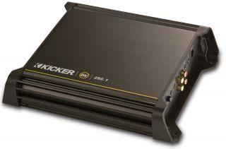 Kicker DX250 1 DX Series Car Audio 250 Watts RMS Mono Block Class D