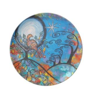 Magical Partridge In A Pear Tree Christmas Plate