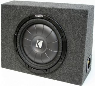 Kicker 12 CVT12 Sub Loaded Truck Subwoofer Box CVT New