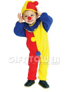 New Clown Child Kids Halloween Costume Outfit Cosplay Overalls Boy