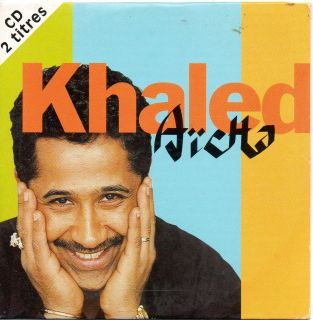 Khaled Aicha 2 Track Single CD 1996