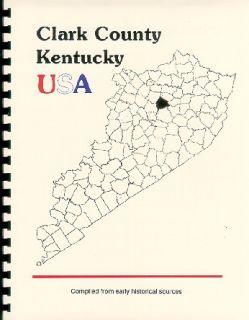 Clark Couny Kenucky Wincheser Daniel Boone Hisory Genealogy 3