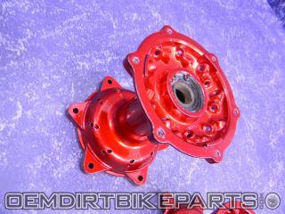 Yamaha Hubs Front Rear Wheel Rim YZ125 YZ250 YZ250F YZ450F 2000 2008