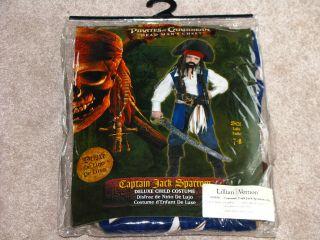 Captain Jack Sparrow 2 Halloween Costume Child 7 8