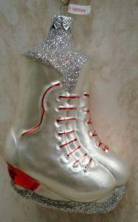 Tannenbaum Figure Skates Ornament Ice Skating F01897