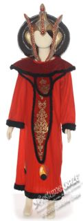 Child Large Deluxe Girls Queen Amidala Costume Star W