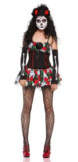 Costume Vault Collection Dahlia of The Dead Costume Day of The Dead