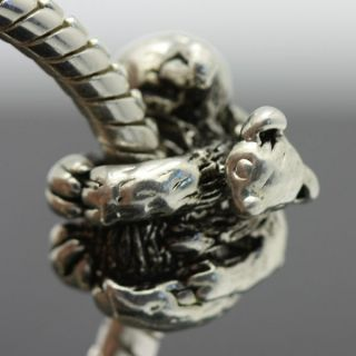 Koala Mum & Kid Sterling Silver European Charm Bead for Bracelet