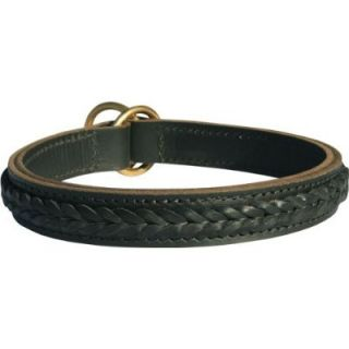 Double Ply Braided Leather Choke Dog Collar Dean Tyler
