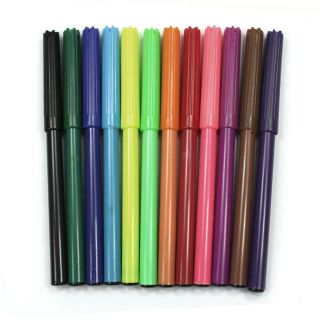 120 Pcs Water Color Pen for Kids Painting Drawing 12 Colors New