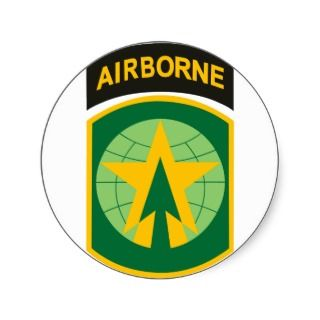 16th MP Brigade Airborne Patch Stickers