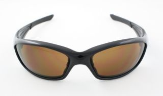 New Oakley Straight Jacket Sunglasses Polished Black