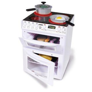 Kids Casdon White Hotpoint Electronic Cooker Pretend Play Kitchen Toy