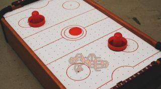 Mini Air Hockey Table Boy Toy Kids Children Game GM0011