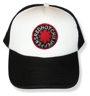 Hot Chili Peppers Logo Embroidered Cap Trucker Hat Kiedis Flea