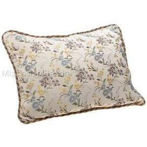 Waterford Kieran King Pillow Sham Beige Blue Yellow Green Floral Kiana