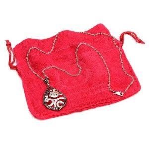 Kimora Lee Simmons Hello Kitty 18K Gold Dia Necklace