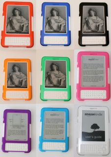 Clear Mcover® Hard Shell Cover Case for  Kindle 3