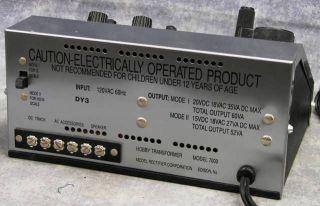 MRC Sound Power 7000 Model Railroad Control Panel HO O N G Scale Train