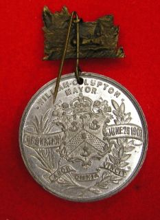 Original Vintage 1902 King Edward VII Coronation Medal