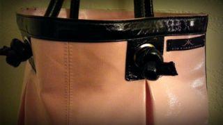 Kim Kardashian Logo Pink Handbag Tote Bag New with Tags