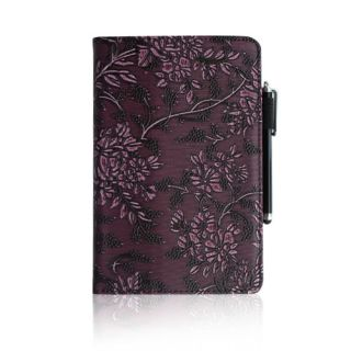 Kindle Fire PU Leather Folio Case Cover Car Charger USB Cable Stylus