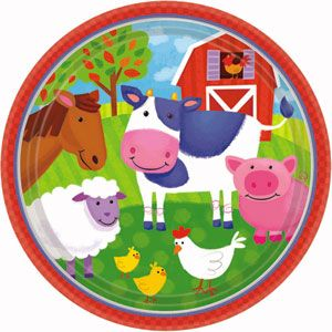 Kids Birthday Party Supplies Barnyard Fun Theme