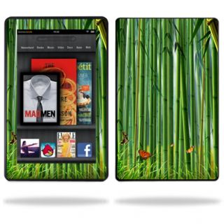 Vinyl Skin Decal Cover for  Kindle Fire Tablet Bamboo