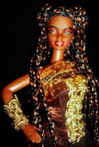 Tarantula Spider Beauty OOAK AA Barbie Doll Gothic Beauty